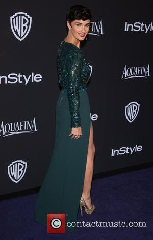 Paz Vega - 16th Annual InStyle and Warner Bros. Golden Globe afterparty - Arrivals at Beverly Hills, Golden Globe -...
