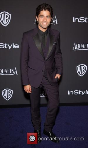 Adrian Grenier - 16th Annual InStyle and Warner Bros. Golden Globe afterparty - Arrivals at Beverly Hills, Golden Globe -...