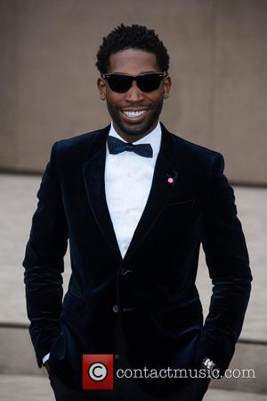 Tinie Tempah - LCM Autumn/Winter 2015 - Burberry Prorsum (Men's) - Arrivals - London - Monday 12th January 2015