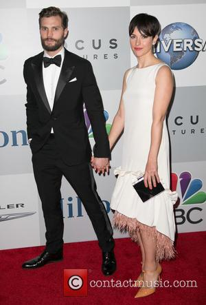 Jamie Dornan and Amelia Warner - NBC/Universal's 72nd Annual Golden Globes After Party, sponsored in part by Chrysler, Hilton, and...
