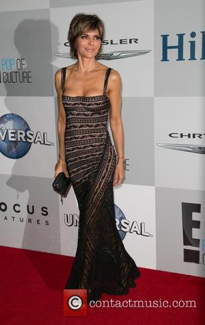 Lisa Rinna - NBC/Universal's 72nd Annual Golden Globes After Party, sponsored in part by Chrysler, Hilton, and Qatar at The...
