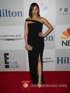 Tamera Mowry - NBC/Universal's 72nd Annual Golden Globes After Party, sponsored in part by Chrysler, Hilton, and Qatar at The...