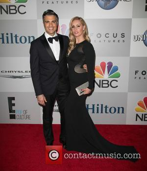 Jaime Camil and Heidi Balvanera - A host of stars were snapped as they arrived for NBC/Universal's 72nd Annual Golden...