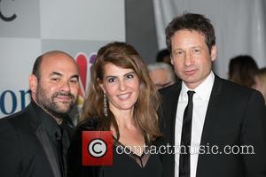 Ian Gomez, Nia Vardalos and David Duchovny