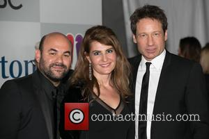 Ian Gomez, Nia Vardalos and David Duchovny - Celebrities attend NBC/Universal's 72nd Annual Golden Globes After Party - Arrivals sponsored...