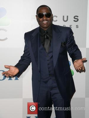 Johnny Gill - Celebrities attend NBC/Universal's 72nd Annual Golden Globes After Party - Arrivals sponsored in part by Chrysler, Hilton,...