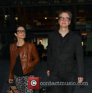 Colin Firth and Livia Firth