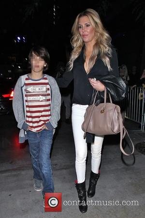 Brandi Glanville and Mason Cibrian