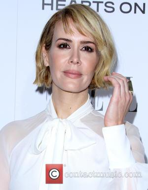 Sarah Paulson - A host of female stars were snapped as they took to the red carpet at the Elle...
