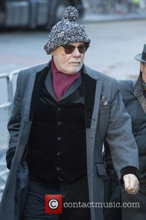 Gary Glitter - Paul Gadd aka Gary Glitter arriving at Southwark Crown Court to answer to ten charges of historic...