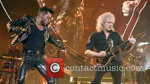 Brian May, Adam Lambert and Roger Taylor - Queen and Adam Lambert headlining at the SSE Hydro at the SECC...
