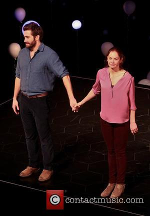 Jake Gyllenhaal and Ruth Wilson - Opening night curtain call for Broadway's 'Constellations' at the Friedman Theatre at Friedman Theatre,...