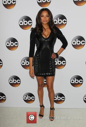 Rochelle Aytes - Disney & ABC Television Group's TCA Winter Press Tour - Arrivals at The Langham Huntington Hotel and...