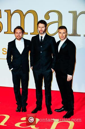 Gary Barlow, Howard Donald, Mark Owen and Take That - 'Kingsman: The Secret Service' U.K. Premiere held at the Odeon...
