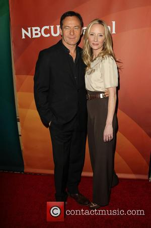 Jason Isaacs and Anne Heche - A host of stars were snapped as they arrived for the first day of...