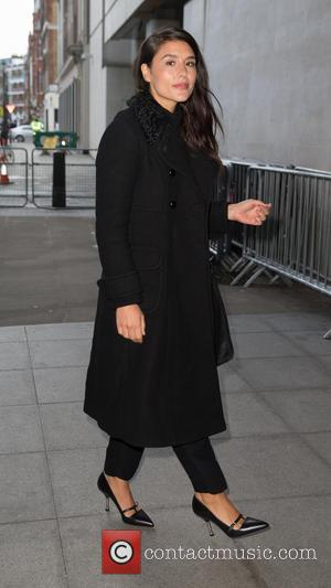 Jessie Ware - Jessie Ware arriving at the Radio 1 studio to perform on the Live Lounge at BBC Portland...