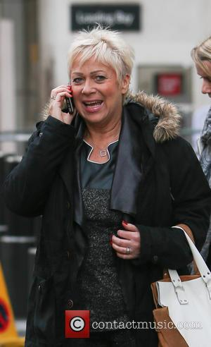 Denise Welch - Denise Welch outside BBC Broadcasting House - London, United Kingdom - Thursday 15th January 2015