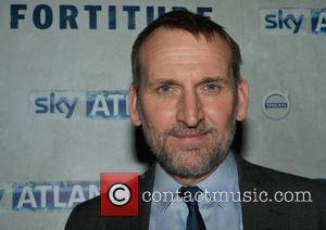 Christopher Eccleston - Actors Christopher Eccleston & Luke Treadaway at the Dublin Premiere of Sky Atlantic's 'Fortitude' at The Mansion...