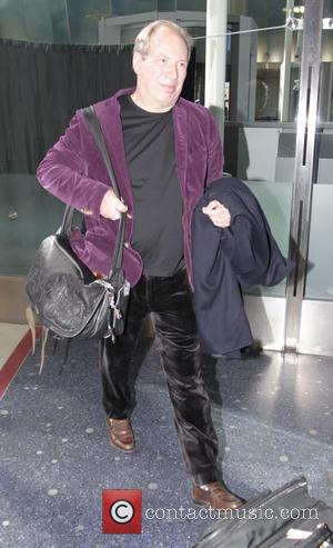 Hans Zimmer - Film composer Hans Zimmer arrives at Los Angeles International Airport (LAX). He has composed music for over...