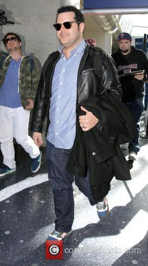 American actor and voice of Olaf the snowman in Disney's hit movie 'Frozen' Josh Gad was snapped as he departed...