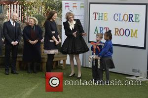 Catherine Duchess of Cambridge and Grayson Perry - Catherine the Duchess of Cambridge officially names the Clore Art room at...