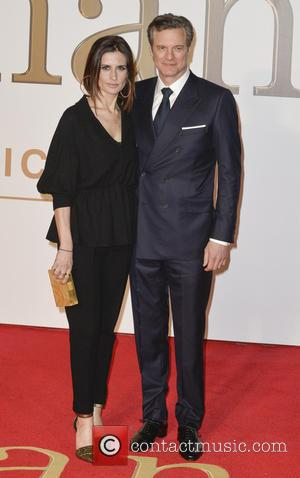 Colin Firth and Livia Giuggiol