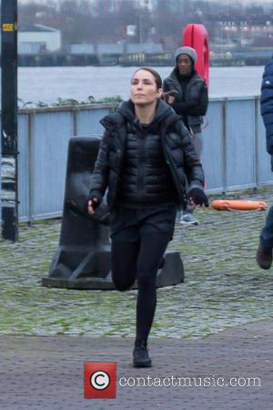Noomi Rapace - Noomi Rapace films scenes for 'Unlocked' - London, United Kingdom - Thursday 15th January 2015
