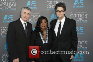 Steve James, Chaz Ebert and Garrett Basch