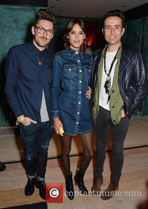 Henry Holland, Alexa Chung and Nick Grimshaw