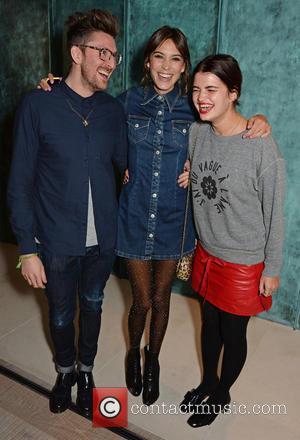 Henry Holland, Alexa Chung and Pixie Geldof
