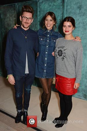 Henry Holland, Alexa Chung and Pixie Geldof - Alexa Chung hosts and intimate party to celebrate the global launch of...