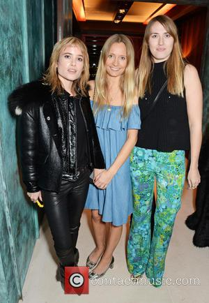 Julia Hobbs, Martha Ward and Naomi Smart - Alexa Chung hosts and intimate party to celebrate the global launch of...