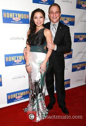 Catherine Ricafort and Tony Danza