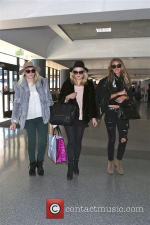 Francesca Eastwood - Francesca Eastwood and friends depart  from LAX on all girl trip - Los Angeles, California, United...