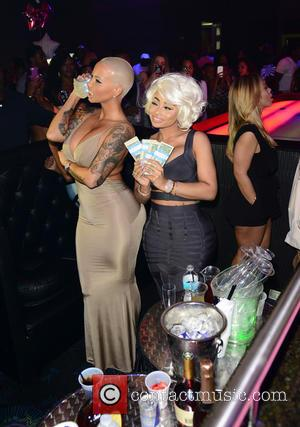 Amber Rose and Blac Chyna - Amber Rose and Blac Chyna host Diva Fridays at G5ive Lounge at G5ive Miami...