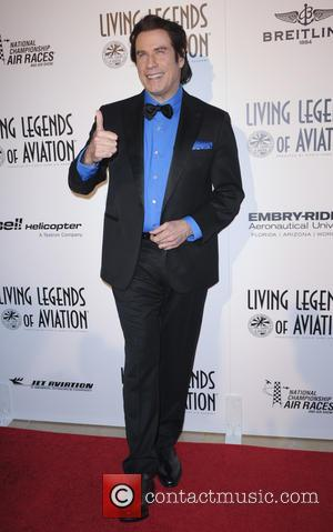 John Travolta - The 12th Annual Living Legends of Aviation Awards - Arrivals - Los Angeles, California, United States -...