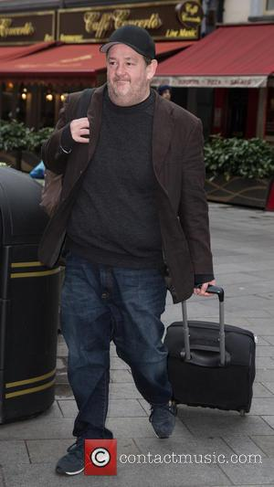 Johnny Vegas - Celebrities at Capital Radio at Leicester Square - London, United Kingdom - Friday 16th January 2015