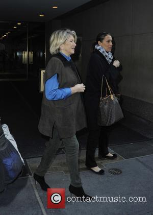 Martha Stewart - Martha Stewart leaving the NBC studios in Manhattan at Manhattan - New York City, New York, United...