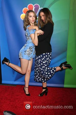 Bridgit Mendler and Bianca Kajlich