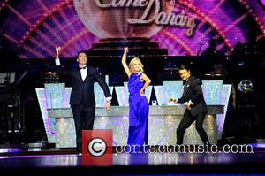 Camilla Dallerup, Tom Chambers and Craig Revel Horwood