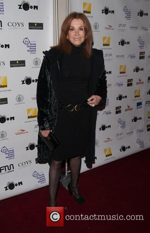 Stefanie Powers - Zoom Formula 1 Charity Gala Auction held at the Hotel InterContinental - Arrivals. - London, United Kingdom...