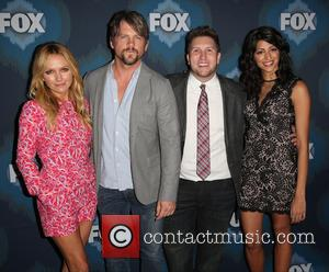 Becki Newton, Zachary Knighton, Nate Torrence and Meera Rohit Kumbhani