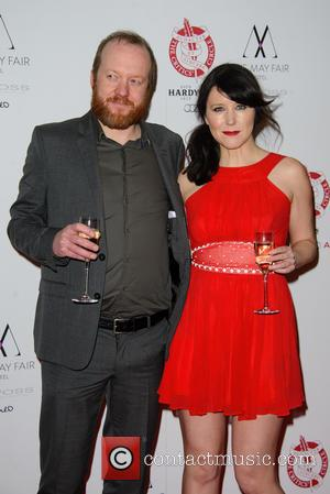 Steve Oram and Alice Lowe - The London Critics' Circle Film Awards held at The May Fair Hotel - Arrivals...