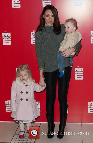 Michelle Heaton - 'Big Hero 6' UK Gala Screening held at Odeon Leicester Square - Arrivals at Odeon Leicester Square...