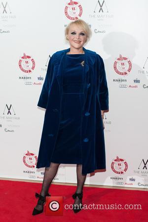 Miranda Richardson - London Theatre Circle Awards held at the May Fair Hotel - Arrivals. - London, United Kingdom -...