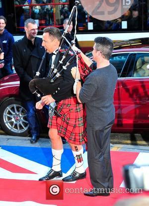David Walliams and Simon Cowell - Britain's Got Talent Edinburgh Auditions held at Edinburgh Festival Theatre - Arrivals at Britain's...