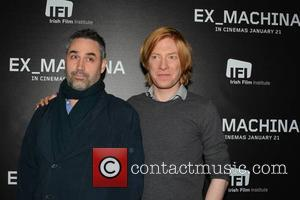 Alex Garland and Domhnall Gleeson