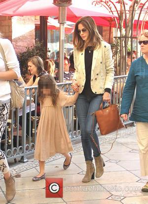 Michelle Monaghan and Willow Katherine White - Michelle Monaghan takes her daughter shopping at The Grove in Hollywood - Los...
