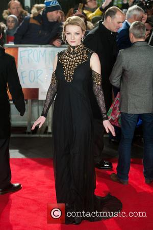 Dakota Blue Richards - A host of stars were photographed as they attended the UK premiere of 'Mortdecai' which stars...