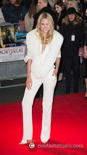 Kimberley Garner - A host of stars were photographed as they attended the UK premiere of 'Mortdecai' which stars American...